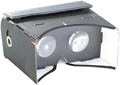 auvisio VR Brille für Samsung: Virtual-Reality-Brille VRB57.3D für Smartphones, Magnetschalter (VR-Brillen für 3D-Content & Apps)