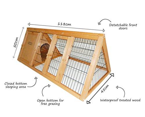 bentley-pets-kleintierauslauf-fur-kaninchen-und-meerschweinchen-tragbar-dreieckig-aus-holz