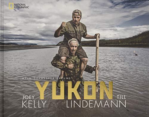 Buchseite und Rezensionen zu 'Bildband Yukon: Mein gehasster Freund. Joey Kelly und Till Lindemann fahren im schmalen Kanu auf dem Yukon durch Alaska und trotzen der Gewalt der Natur. Nah dran an einer engen Freundschaft.' von Joey Kelly