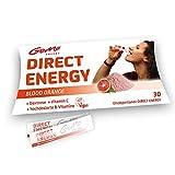 GoMo ENERGY® Vitalpulver │Vitamin B12 hochdosiert, Dextrose Energie und Vitamin C als Wachmacher gegen Müdigkeit und für bessere Konzentration │ natürliches Pulver für schnelle Energie mit Blutorange