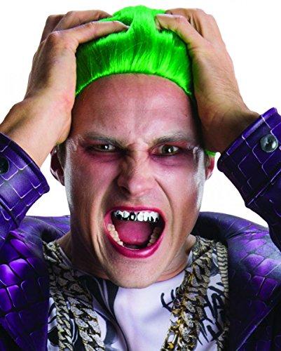 �hne aus Suicide Squad für Fasching & Halloween (Fake Weißen Zähne Kostüme)