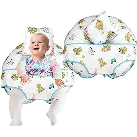 Único 4en 1Premium algodón enfermería almohada con Free Mini almohada y bebé arnés
