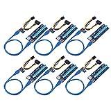 MakerHawk 6pcs PCI-E 1X zu 16X Grafikkarte Verlängerungskabel PCI-E Adapterkarte Express Verlängerungskabel Bergbau Dedicated