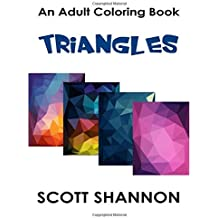 An Adult Coloring Book - Triangles
