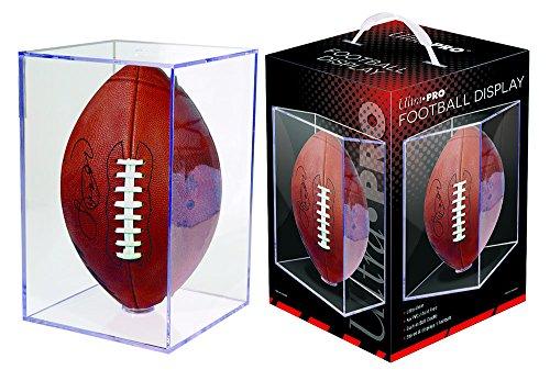 Ultra Pro Fußballhalter, quadratisch, transparent -