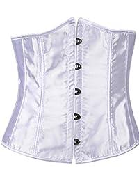 ZAMME mujer's Rocker Style Vest Underbust Moda Cors¨¦ Reductora cintura