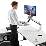 Best Keyboard Workstations - Sit Stand Desk Height Adjustable Standing Desk Workstation Review