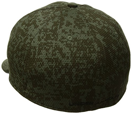 Under Armour Herren Ua Print Blitzing Cap Kappe Downtown Green