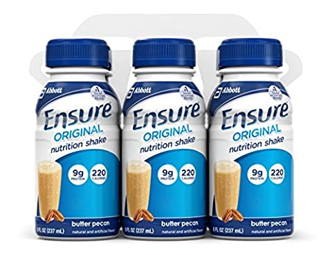 Ensure Complete Balanced Nutrition Drink, Butter Pecan, 8-Ounce by Ensure