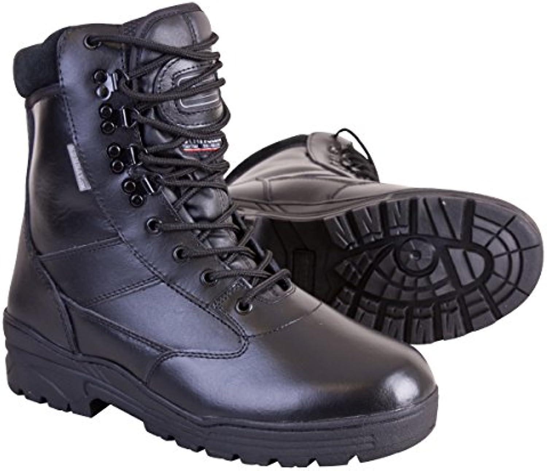 Kombat UK Herren Alle Leder Patrol StiefelKombat PBALBK05 Herren Stiefel 5 Billig und erschwinglich Im Verkauf