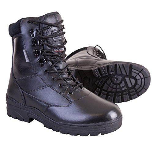 Kombat UK Men's All Leather Patrol Boots - Black, Size