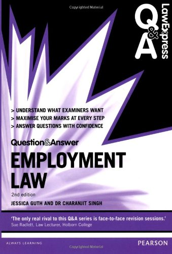 Law Express Question and Answer: Employment Law (Lawexpress Q & a)