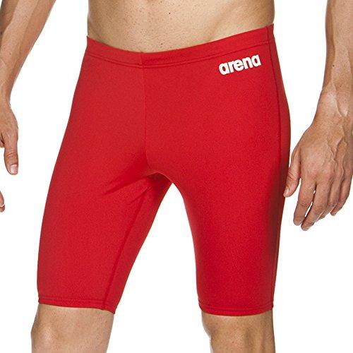 Arena Herren Solid Jammer Rot (rot/weiß)