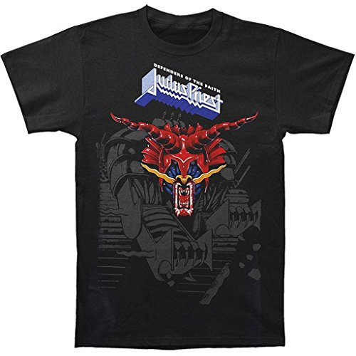 Judas Priest Defenders Hombre Black T-Shirt