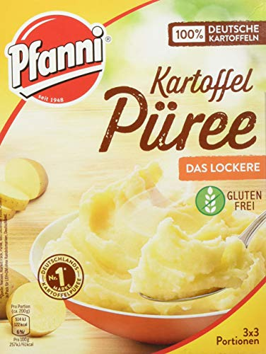 Pfanni Kartoffelpüree der Klassiker besonders locker 3x3 Portionen - Ree Bücher