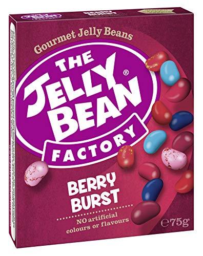 The Jelly Bean Factory Berry Burst 75 g Fair Trade Box - 8er Pack | Gourmet Jelly Beans -