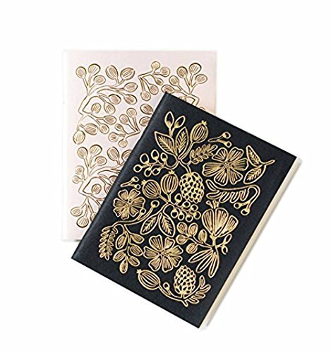 Gold Folie Paar Pocket Notebooks - Everyday Notebooks - Set von 2 -