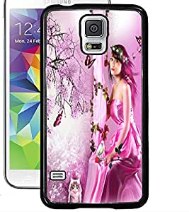 ColourCraft Lovely Angel Design Back Case Cover for SAMSUNG GALAXY S5 NEO