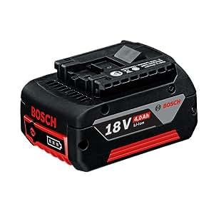 Bosch Professional GBA 18 V Ersatz-Akku mit 4,0 Ah Akkukapazität