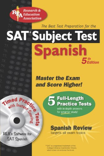 The Best Test Preparation for the Sat Subject Test Spanish par G M Hammitt