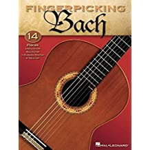 Fingerpicking Bach -Guitar- (Book): Lehrmaterial, Sammelband für Gitarre