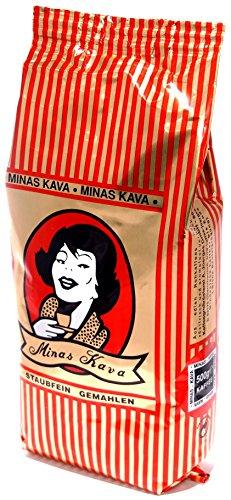 Minas Kava Gemahlener Balkan Mokka Kaffee Beutel (500g