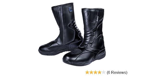 BLACK Stealth - Motorrad-Stiefel - Allwetter Touring - wasserdicht  Amazon. de  Sport   Freizeit 0286f35eff