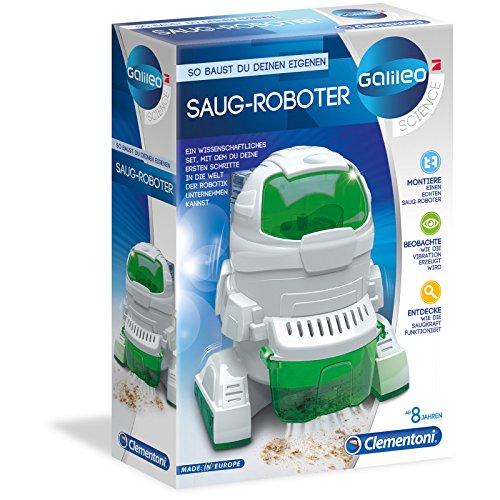 #0618 Galileo Saug Roboter zum selber bauen und entdecken • Saugroboter Spielzeug Technik Experimentier Set Kinder