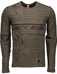 JOHN GALLIANO Longshirt 1500 (grau)