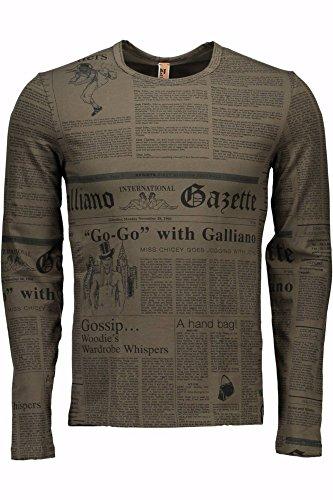 john-galliano-t-shirt-esternabile-uomo-verde