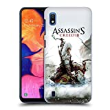 Head Case Designs Ufficiale Assassin's Creed Connor Ascia III Arte Chiave Cover Retro Rigida per Samsung Galaxy A10 (2019)