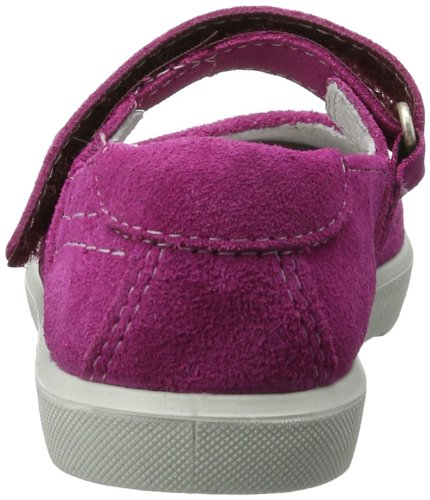Ricosta  Micka(S), Ballerines pour fille Rouge - Rot (pop 321)