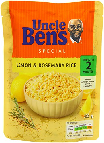uncle-bens-express-lemon-and-rosemary-rice-250-g-pack-of-6