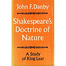 Shakespeare's Doctrine of Nature:King Lear