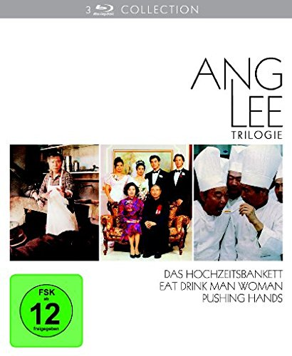 Ang Lee Collection : Das Hochzeitsbankett - Eat Drink Man Woman - Pushing Hands [Blu-ray]