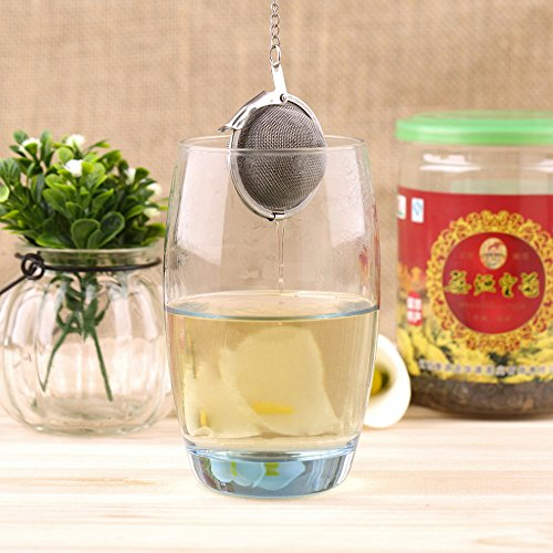 Silicon Tea Infuser/Strainers (Metal Tea Ball)  available at amazon for Rs.110