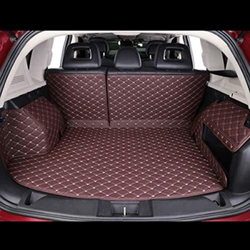 WANGLEISCC Maßgefertigte Kofferraummatte, für Peugeot 5008 508 206 4008 306 307 308 207 Cargo Liner Interieur-Zubehör Car Styling