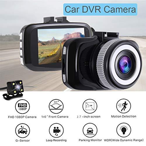 Leva llena del Video de la cámara del vehículo de DVR del coche de HD 1080P Con la pantalla DE 2.7 pulgadas (Camaras Hd Video De)
