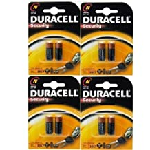 8 x DURACELL LR1 MN9100 N pilas alcalinas reloj de seguridad tipo 910 A E90 1,5 V