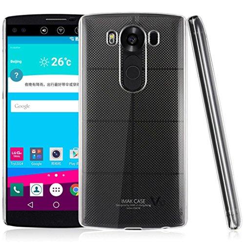Preisvergleich Produktbild LG V10 Hülle ,  Ouneed Transparent PC stark Fall Abdeckung Haut für LG V10 (Transparent)