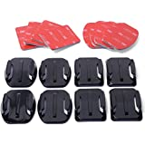 XCSOURCE Accessories Chest strap + Head Strap + Wrist Strap + Floating Hand Grip Monopod + Flat Curved Adhesive Mount + Anti-Fog Inserts + Surf Mount Set for Gopro Hero 2 3 Camera