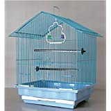 Pets Empire Small Bird Cage,Cage Bird Cage Budgie Canaries Exotic Birds Size: 35X28X43cm (Color May Vary)