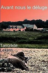[Littérature] Avant nous le déluge, de Tancrède Lekern 51mBV%2BkKbqL._SX195_