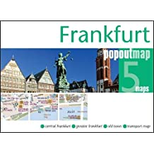 Frankfurt PopOut Map - handy pocket-sized city map of Frankfurt (PopOut Maps)