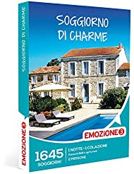 EMOZIONE3 - Cofanetto Regalo - SOGGIORNO DI CHARME - 1645 soggiorni di charme in B&B e agriturismi in Italia