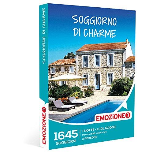 Emozione3 - Soggiorno Di Charme - 1645 Soggiorni Di Charme In B&B e Agriturismi In Italia, Cofanetto Regalo
