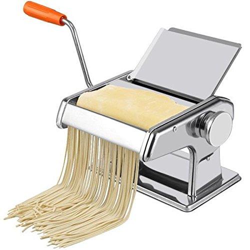 Popamazing 3in 1Edelstahl Pasta Lasagne Spaghetti Tagliatelle Maker Maschine Cutter