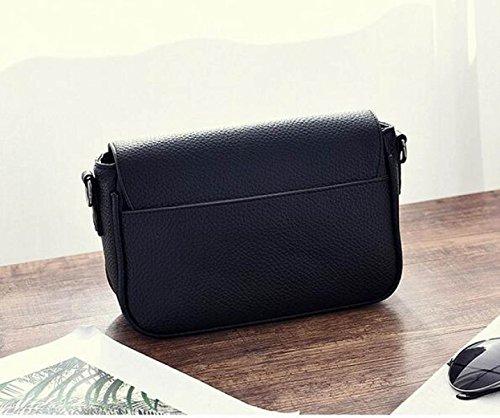 2017 Tassel Totes Handtasche Frauen Casual Schultertaschen Soft Leder Crossbody Tasche Black
