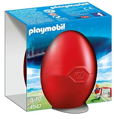 Playmobil - Jugador de fútbol con portería 49470