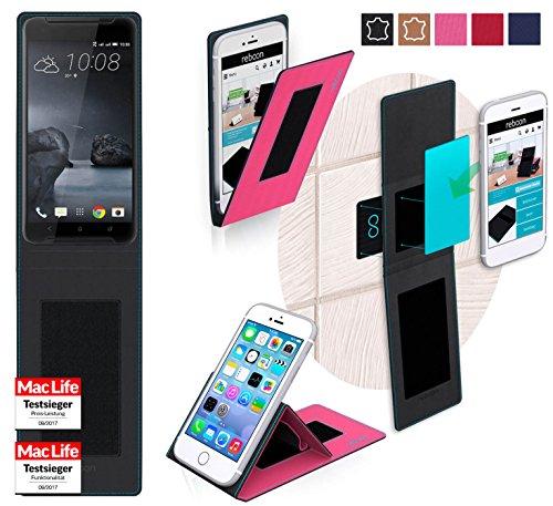 reboon HTC One X9 Hülle Tasche Cover Case Bumper | Pink | Testsieger